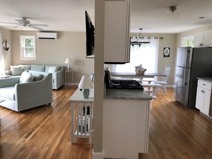 West Yarmouth Cape Cod vacation rental - Brand new kitchen & open concept living facing out to Swan Pond
