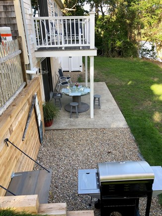 West Yarmouth Cape Cod vacation rental - Deck and patio seating with grilling station