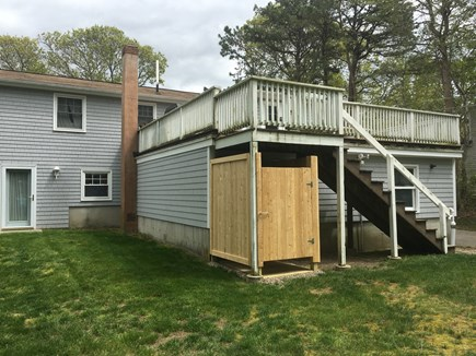 North Falmouth New Silver Beac Cape Cod vacation rental - New outdoor shower installed May 2019.