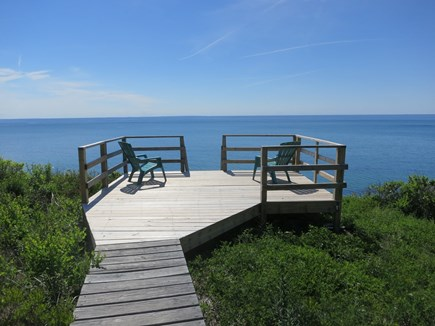 South Truro Cape Cod vacation rental - Deck overlooking Cape Cod Bay and Proviencetown