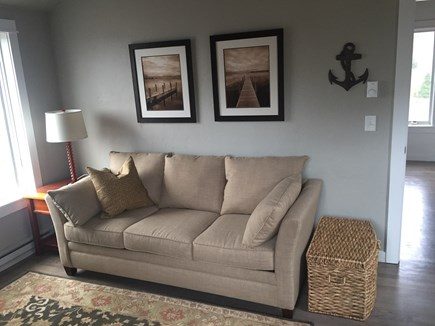 South Truro Cape Cod vacation rental - Den with queen sleeper sofa