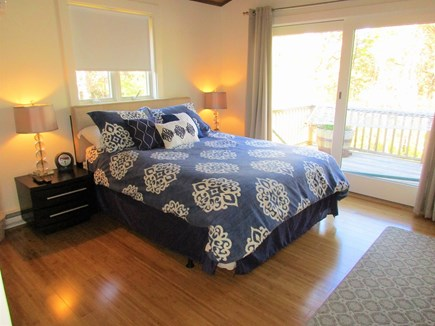 Truro Cape Cod vacation rental - Master Bedroom with Slider to the Deck