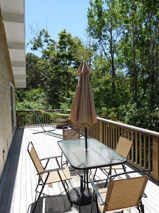 Truro Cape Cod vacation rental - Deck with Dining