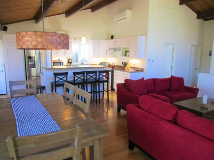 Truro Cape Cod vacation rental - Open Dining, Kitchen & Living