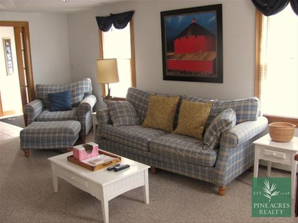 Chatham Cape Cod vacation rental - Living area with fireplace
