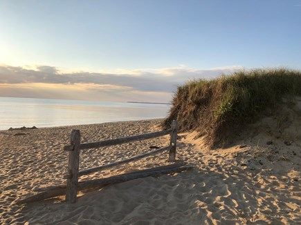 Eastham Cape Cod vacation rental - Beautiful Kingsbury Beach on Cape Cod Bay is just a block away!