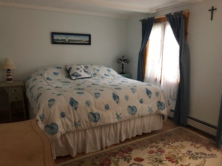 Eastham Cape Cod vacation rental - King Master Bedroom Main Floor (no stairs)