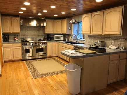 Eastham Cape Cod vacation rental - Wolf Range and Grill in spacious kitchen