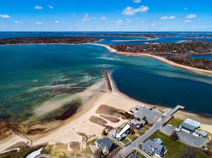 North Falmouth, Megansett Cape Cod vacation rental - Aerial view of the home.