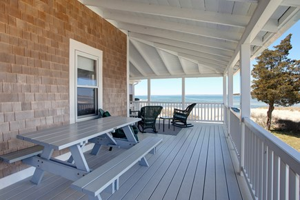 North Falmouth, Megansett Cape Cod vacation rental - Another view of the porch.