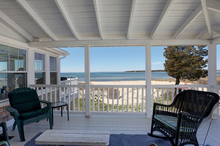 North Falmouth, Megansett Cape Cod vacation rental - Wrap around porch with stunning views of the water and beach.