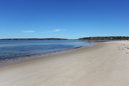 North Falmouth, Megansett Cape Cod vacation rental - Beautiful private beach right out the back door!
