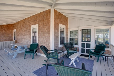 North Falmouth, Megansett Cape Cod vacation rental - Plenty of seating on the wrap around porch.