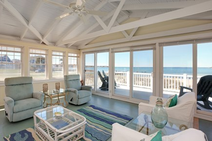 North Falmouth, Megansett Cape Cod vacation rental - Sun porch with panoramic views!