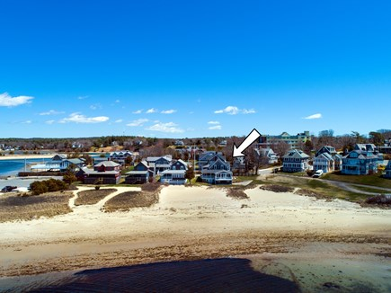 North Falmouth, Megansett Cape Cod vacation rental - View of the Home and Beach!