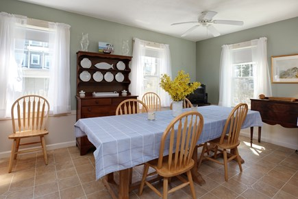 North Falmouth, Megansett Cape Cod vacation rental - Spacious dining table off the kitchen,