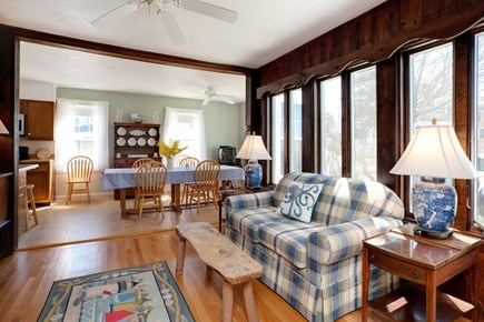 North Falmouth, Megansett Cape Cod vacation rental - Living room off the kitchen area.