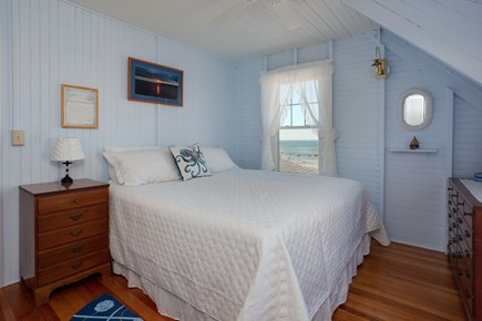 North Falmouth, Megansett Cape Cod vacation rental - The Hydranga Room with a king bed and incredible water views.