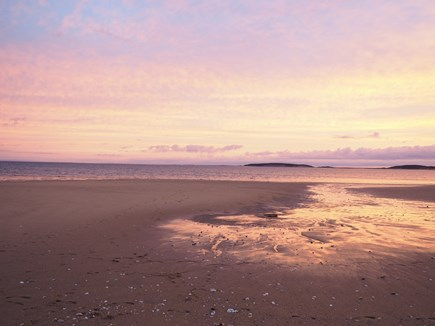 Indian Neck, Wellfleet Cape Cod vacation rental - Sunset at Hiawatha Beach, a short walk away.