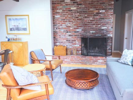 Indian Neck, Wellfleet Cape Cod vacation rental - Mid-century modern open-plan living space.