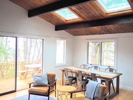 Indian Neck, Wellfleet Cape Cod vacation rental - Skylights keep the space bright all day.