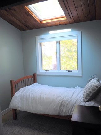 Indian Neck, Wellfleet Cape Cod vacation rental - This bedroom has a twin bed, pull-out trundle, or crib.