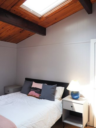 Indian Neck, Wellfleet Cape Cod vacation rental - The other queen bedroom, with skylights