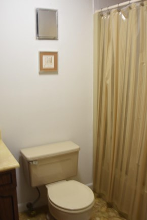 Dennis Cape Cod vacation rental - First floor hallway bathroom with full bathtub/shower