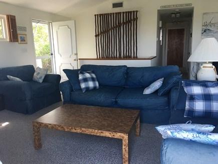 Dennis Cape Cod vacation rental - Living Area with Front Door