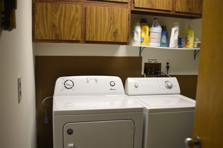 Dennis Cape Cod vacation rental - Laundry room on lower level