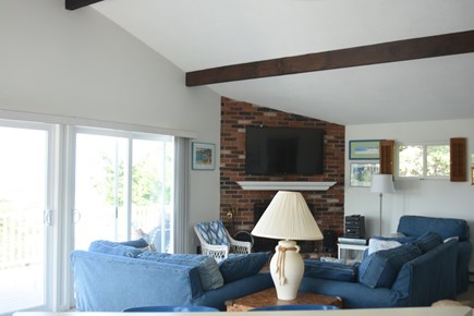 Dennis Cape Cod vacation rental - Family room on first floor