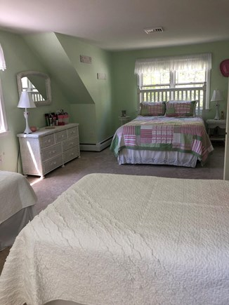 Dennis Cape Cod vacation rental - 2nd view of Bedroom #2 with 2 twin beds in addition to queen