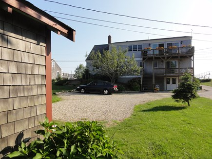 Wellfleet Cape Cod vacation rental - Main home in front of cottage