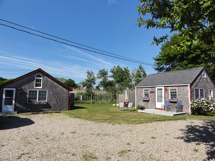 Wellfleet Cape Cod vacation rental - Cottage to left with neighboring cottage to right