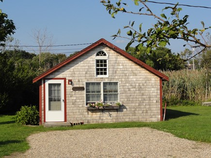 Wellfleet Cape Cod vacation rental - South-facing front of cottage