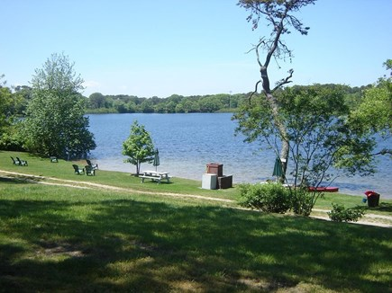 Eastham Cape Cod vacation rental - View to the pond
