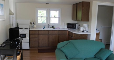 Eastham Cape Cod vacation rental - Kitchen, living area
