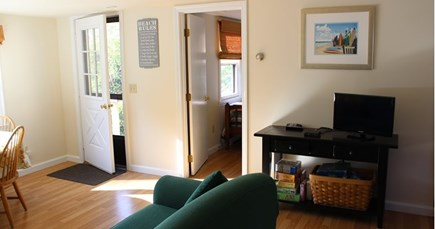 Eastham Cape Cod vacation rental - Front door into living area