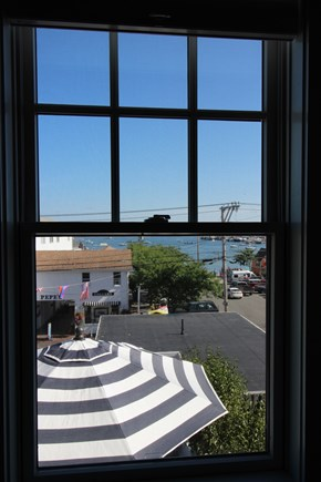 Provincetown Cape Cod vacation rental - Window view 3rd floor BR