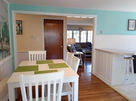 Dennisport Cape Cod vacation rental - Dining area