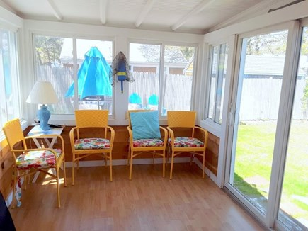 Dennisport Cape Cod vacation rental - Sunroom