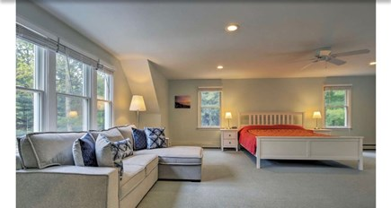 Falmouth, Waquoit Cape Cod vacation rental - Master bedroom with King bed - memory foam