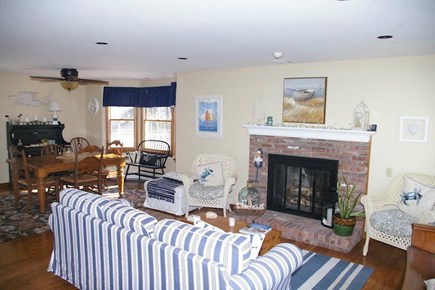 Eastham Cape Cod vacation rental - Living room, open concept