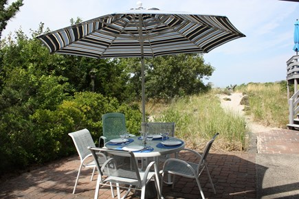 East Sandwich Cape Cod vacation rental - Private Patio