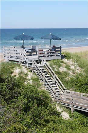 East Sandwich Cape Cod vacation rental - Private boardwalk overlook and private beach
