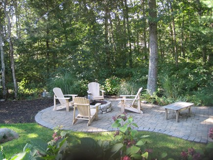 West Falmouth Cape Cod vacation rental - Outdoor patio with fire pit