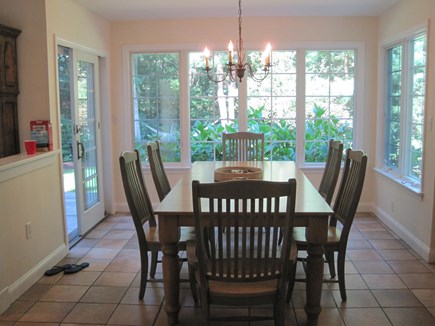 West Falmouth Cape Cod vacation rental - Light, airy dining room