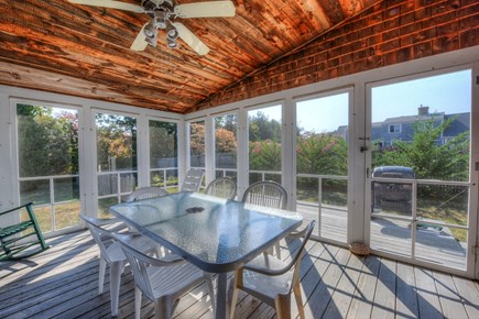 East Sandwich Cape Cod vacation rental - Screened Porch