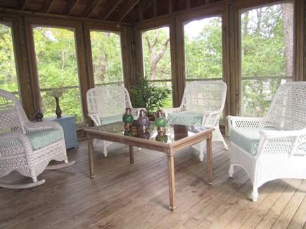 Wellfleet Cape Cod vacation rental - Screened in Porch