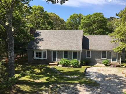 Orleans Cape Cod vacation rental - House front exterior, parking for 3-4 cars